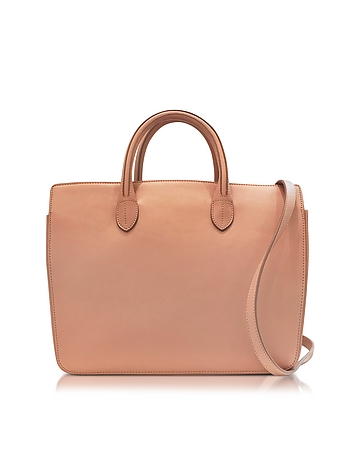 Jil Sander - Open Pink Leather Small Handbag