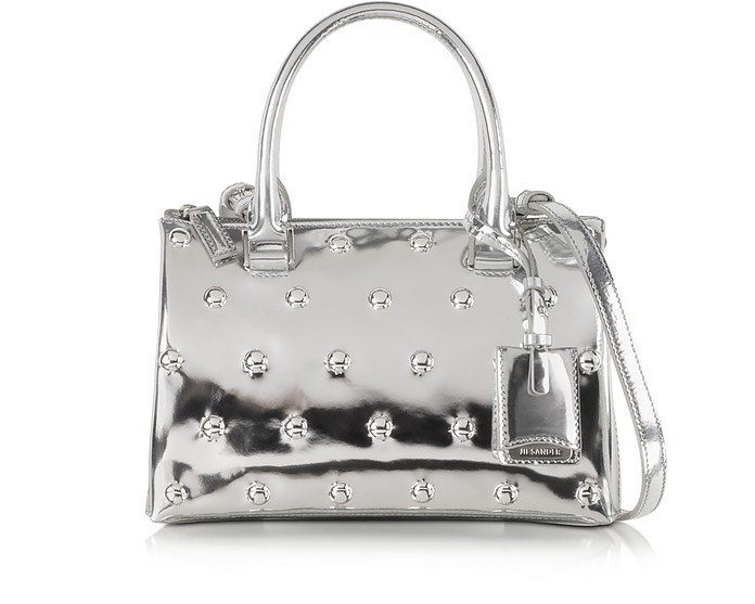 Jil Bag Laminated Mini Satchel - Jil Sander