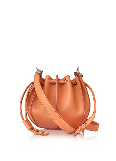Pinch Small Leather Bucket Bag - Jil Sander