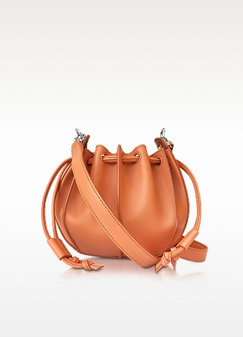 Pinch Small Leather Bucket Bag - Jil Sander