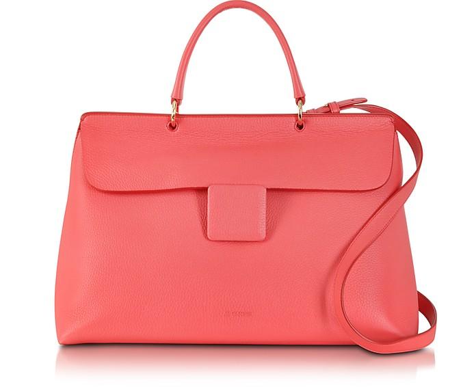 Coral Lady J Large Handbag - Jil Sander