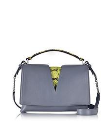 Genuine Leather Small View Bag - Jil Sander