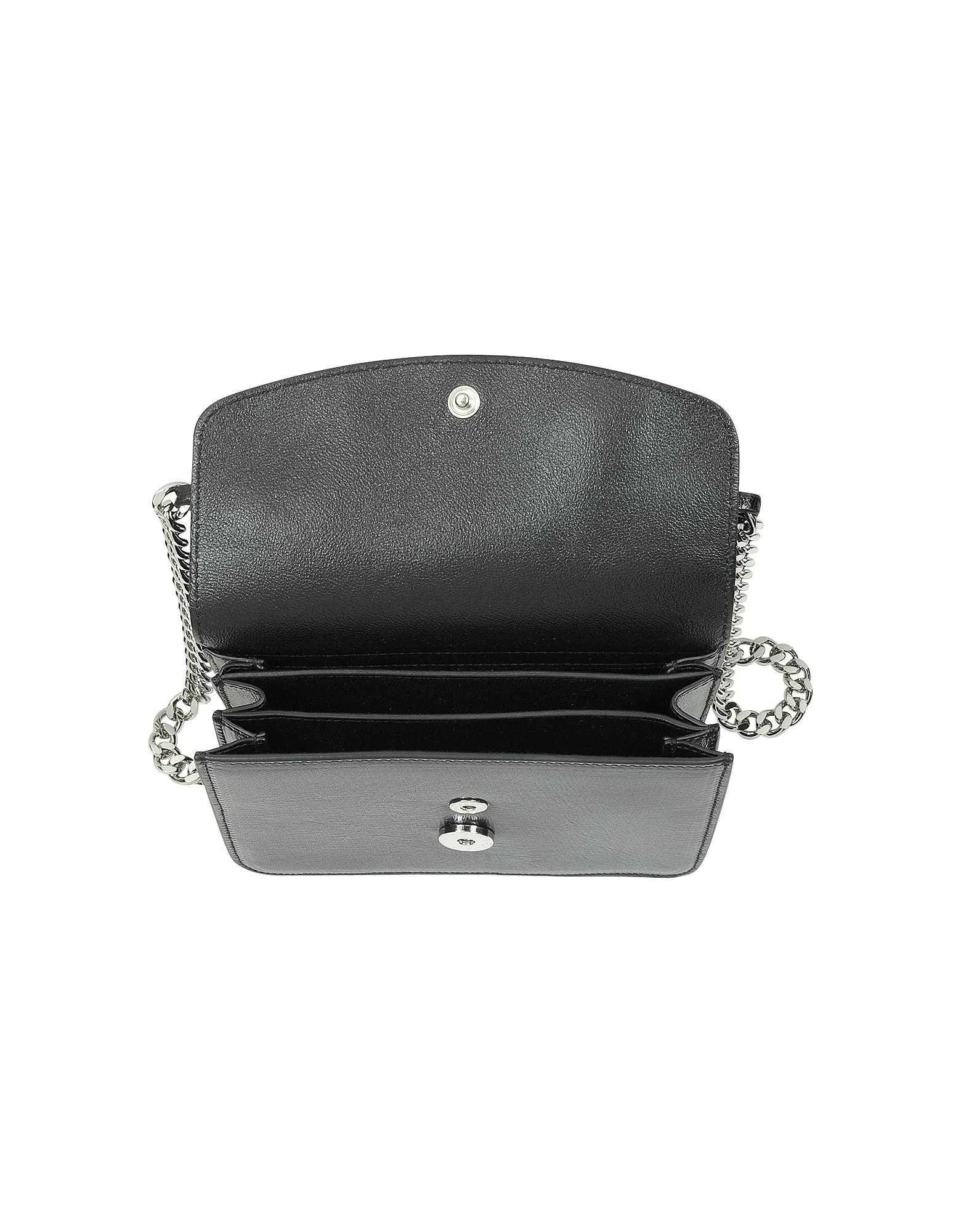 Small View Crossbody Bag w/Chain от Forzieri.com INT