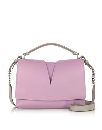 Jil Sander - View Handle Small Knitted Leather Shoulder Bag