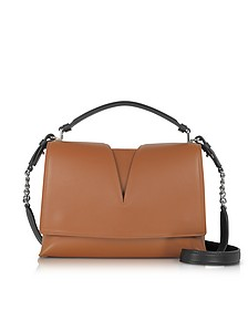 View Handle Small Knitted Leather Shoulder Bag - Jil Sander