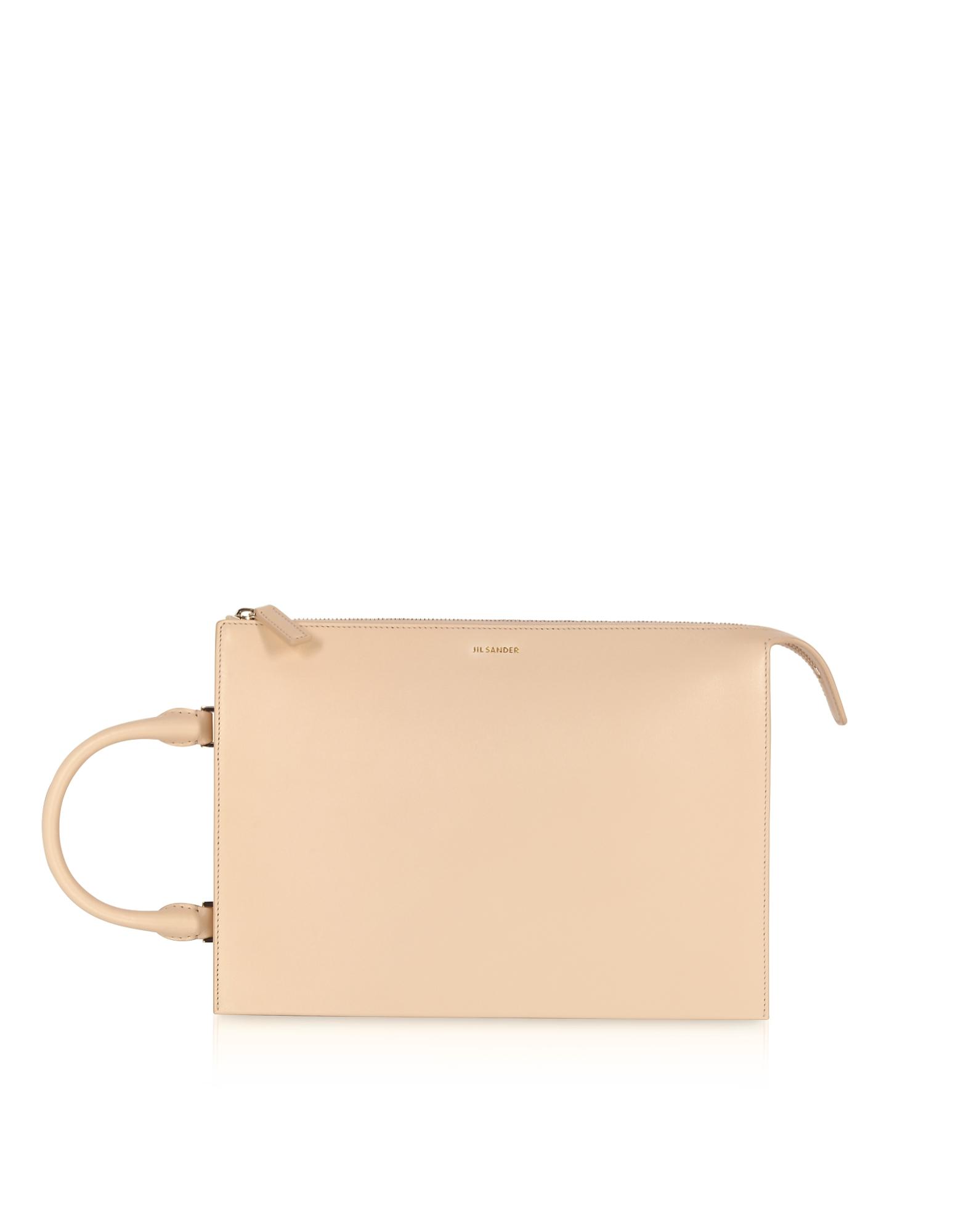 Jil Sander Handbags, Tootie Medium Knitted Leather Handbag