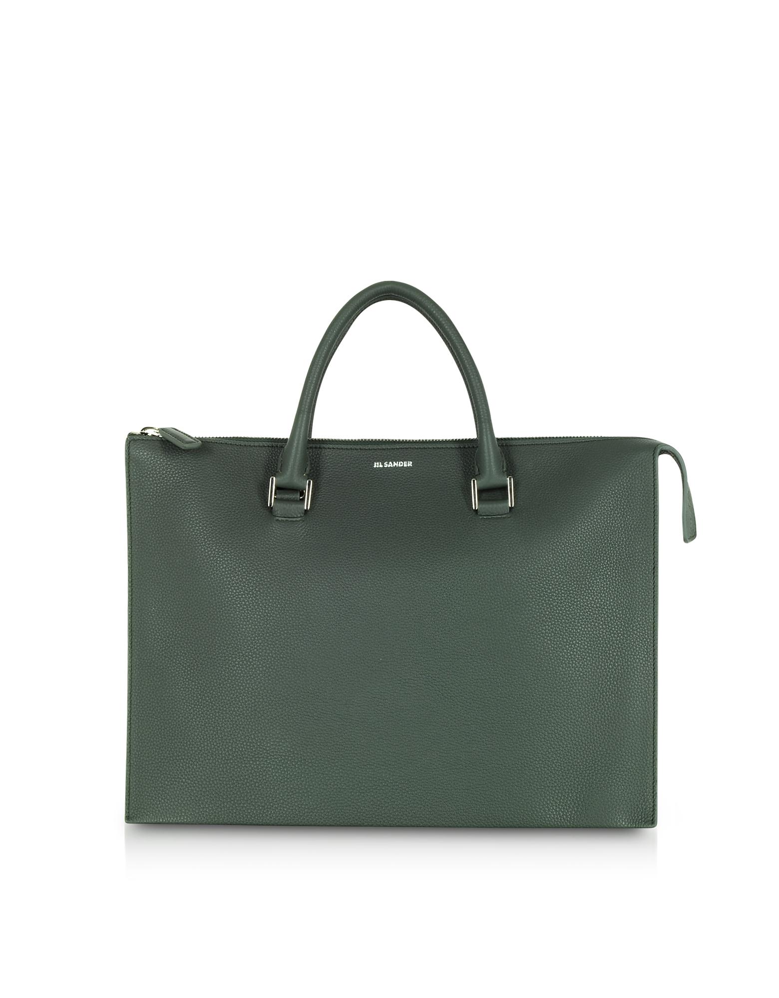 Jil Sander Handbags, Tootie Knitted Leather Tote Bag
