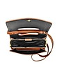 Brown Leather Frame Crossbody Bag - Jil Sander
