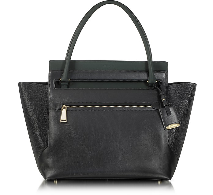 New Malavoglia Medium Leather Tote - Jil Sander