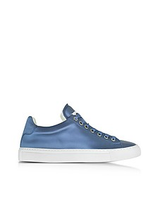 Avio Satin Lace Up Sneaker - Jil Sander