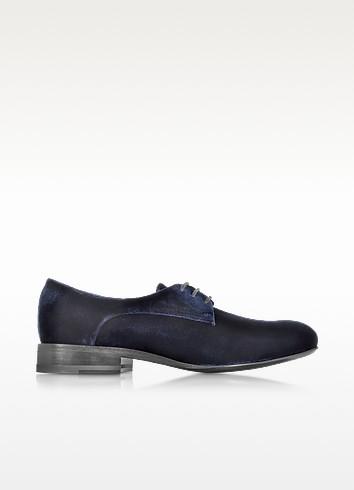 Golfo Velvet Lace-up Shoe - Jil Sander