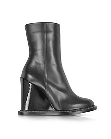 Bottines en cuir - Jil Sander
