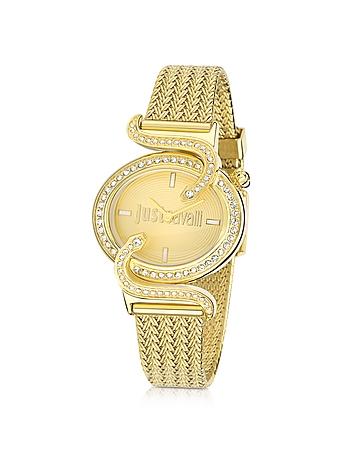 Just Cavalli - Sin JC Stainless Golden Steel Women's Watch