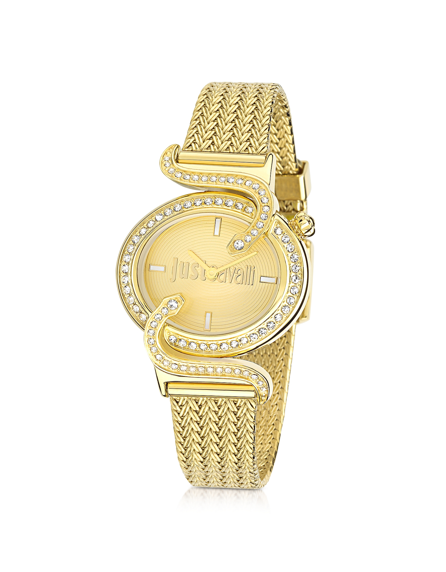 Just Cavalli Women's Watches, Sin JC Stainless Golden Steel Women's Watch
