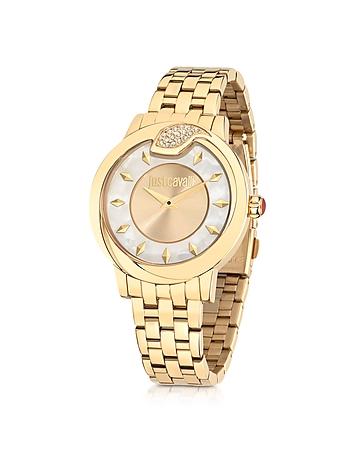 Just Cavalli - Spire JC Golden Stanless Steel Women's Watch