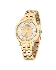 Spire JC Golden Stanless Steel Women's Watch - Just Cavalli