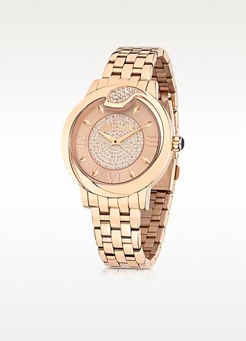Spire JC Rose Gold PVD Stanless Steel Women's Watch - Just Cavalli