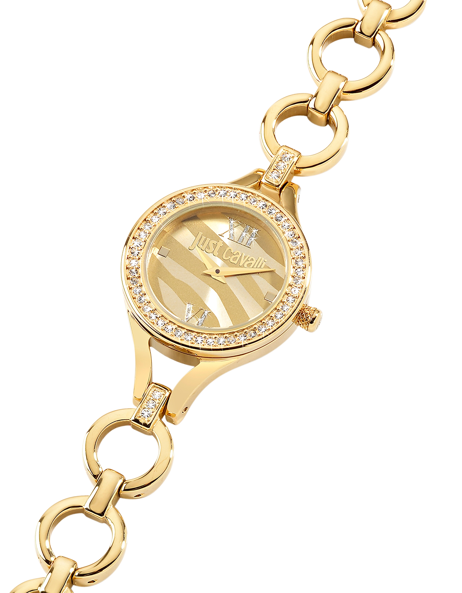 Just Cavalli Women's Watches, Solo JC Golden Stainless Steel Women's Watch