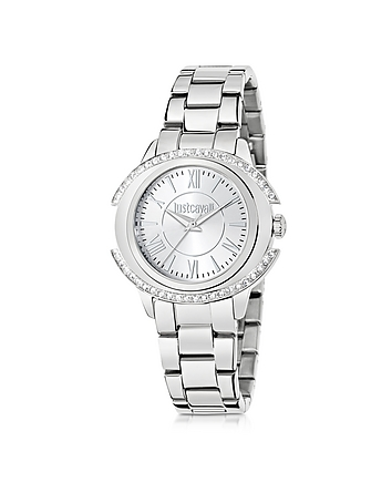 Just Cavalli - Just Decor Silver Tone Stainless Steel Women's Watch