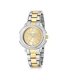Just Decor Two Tone Stainless Steel Women's Watch - Just Cavalli