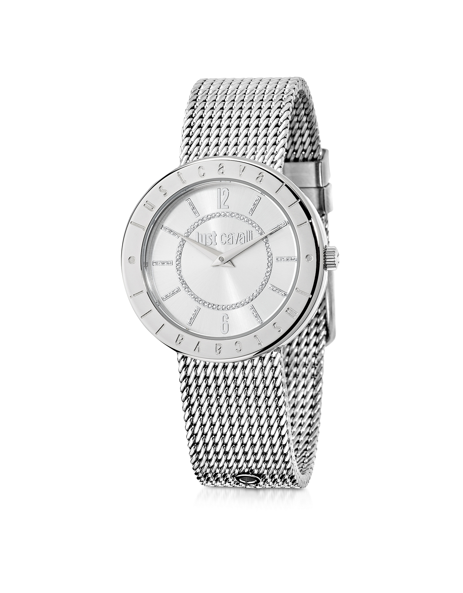 Just Cavalli Women's Watches, Just Shiny Silver Tone Stainless Steel Women's Watch