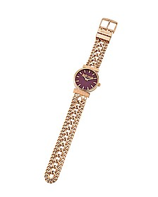 Just Couture Rose Gold Tone Stainless Steel Women's Watch - Just Cavalli