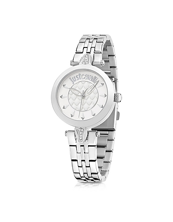 Just Cavalli - Just Florence Silver Tone Stainless Steel Women's Watch