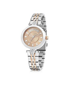 Just Florence Two Tone Stainless Steel Women's Watch - Just Cavalli