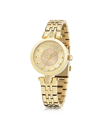 Just Cavalli - Just Florence Gold Tone Stainless Steel Women's Watch