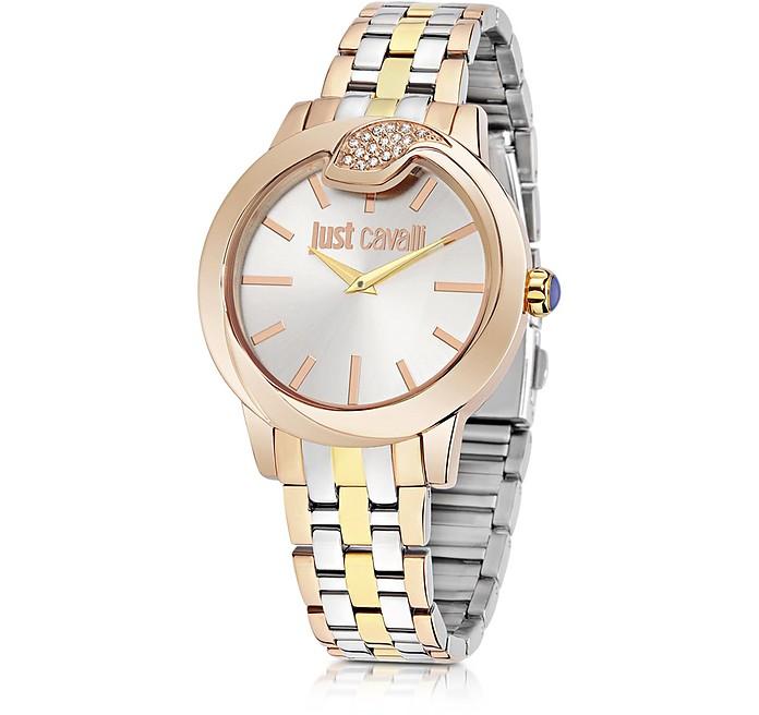 Spire Tri-Tone Women's Watch - Just Cavalli