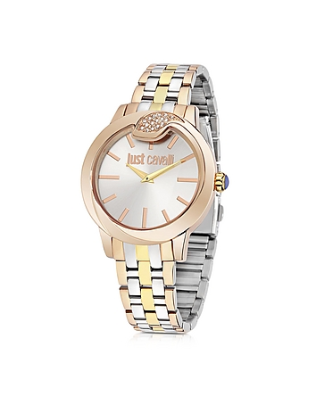 Just Cavalli - Spire Tri-Tone Women's Watch