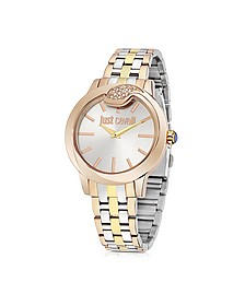 Spire Tri-Tone Women's Watch - Just Cavalli