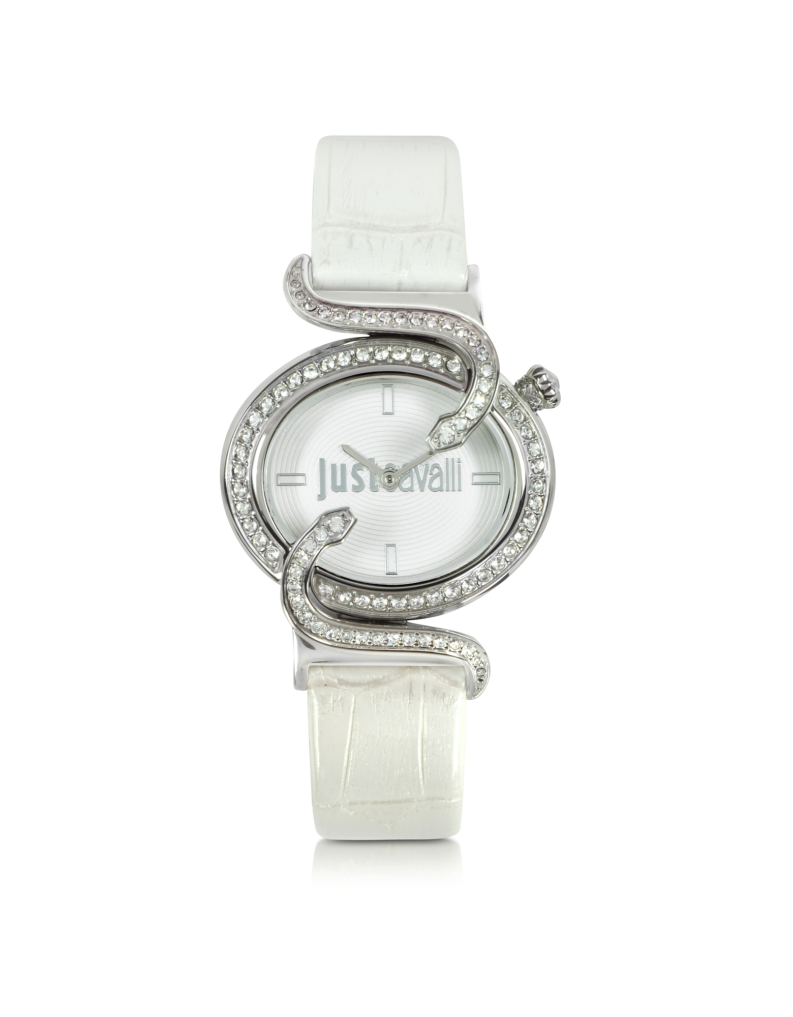 Just Cavalli Women's Watches, Sin 2H Silver Tone Dial Women's Watch