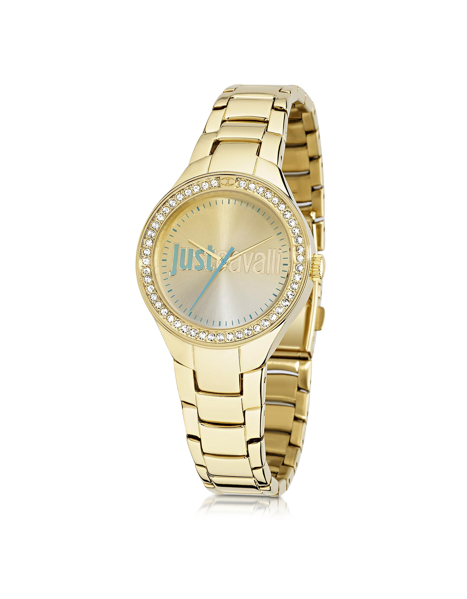 Just Cavalli Women's Watches, Just Shade 3H Gold Tone Stainless Steel Women's Watch