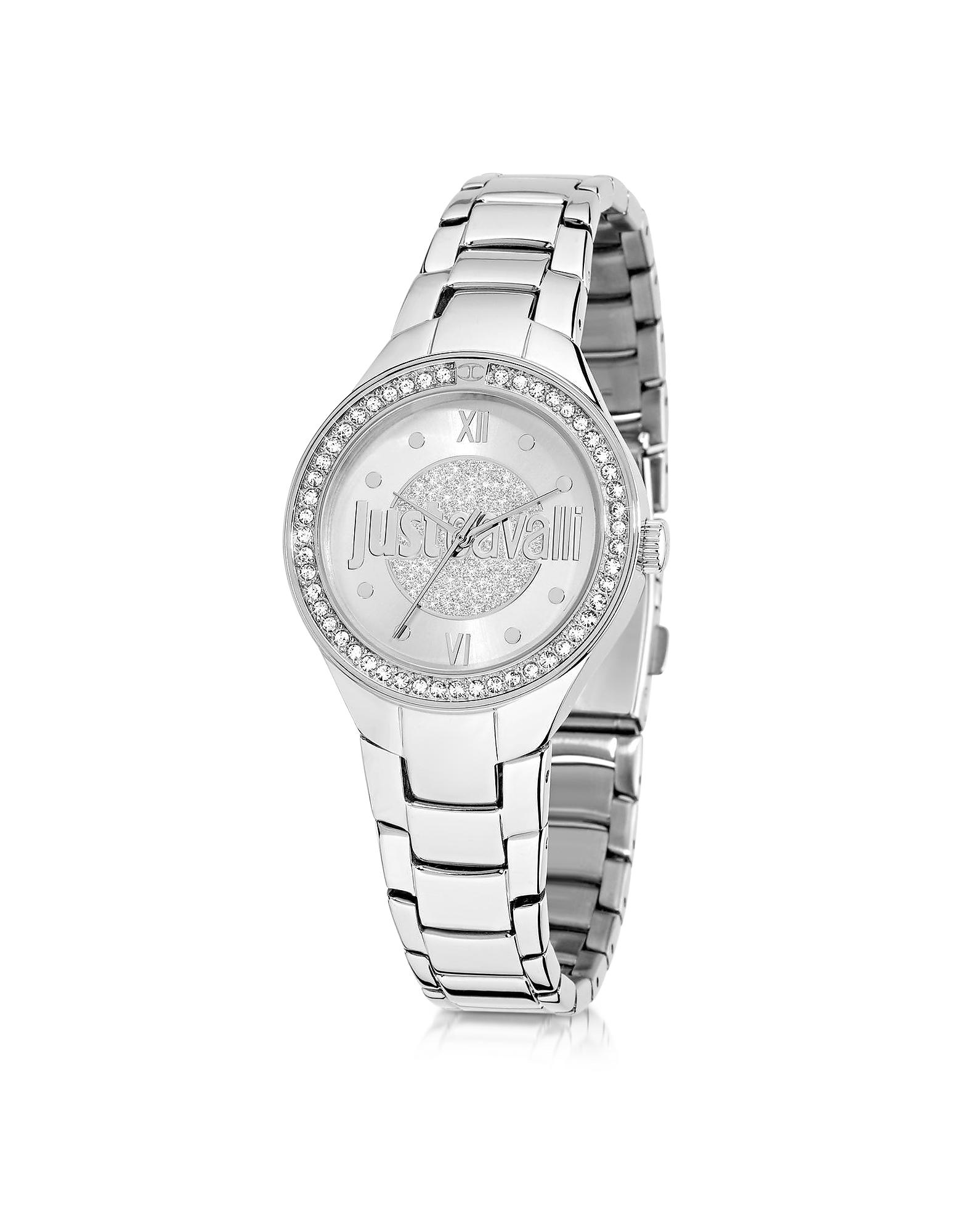 Just Shade 3H - Серебристые Женские Часы из Нержавеющей Стали