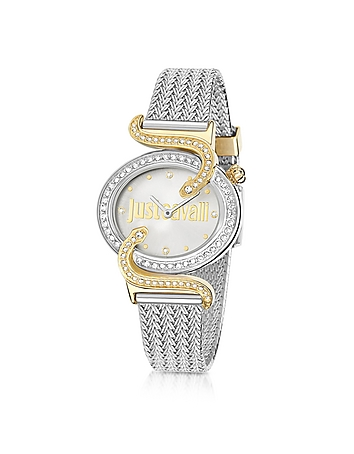 Just Cavalli - Sin JC 2H Two Tone Stainless Steel Women's Watch