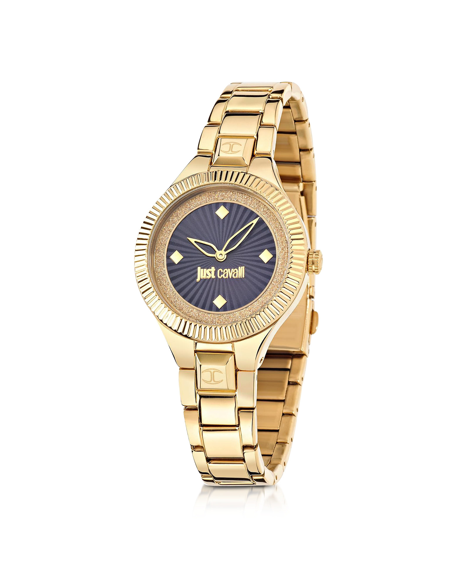 Just Cavalli Women's Watches, Just Indie Gold Tone Stainless Steel Women's Watch