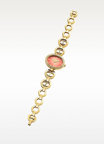 Just Icon Gold Tone Stainless Steel Women's Watch - Just Cavalli