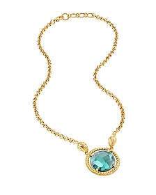 Just Queen Golden Choker w/Pendant - Just Cavalli
