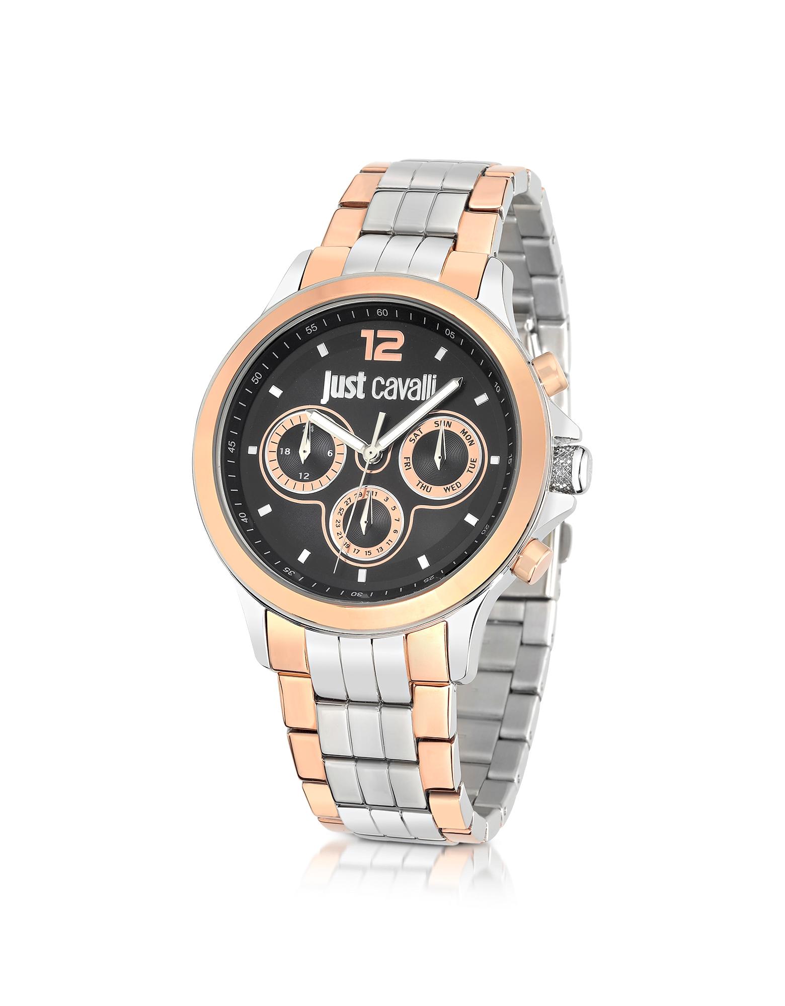 Just Cavalli Men's Watches, Just Iron Stainless Steel Men's Watch