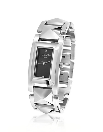 Julia Cocco' - Piccadilly - Silver Studded Bracelet Watch