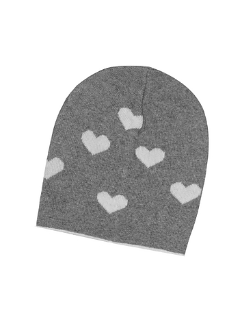 Julia Cocco' - Multi Heart Women's Beanie Hat