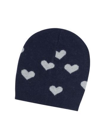 Lux-ID 316900 Multi Heart Women's Beanie Hat