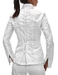 White Lightweight Button Front Jacket - Julia Cocco'