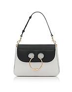 J.W. Anderson Black & White Medium Pierce Bag jw130117-002-00