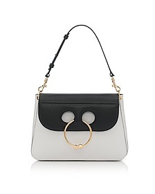 Black & White Medium Pierce Bag - J.W. Anderson