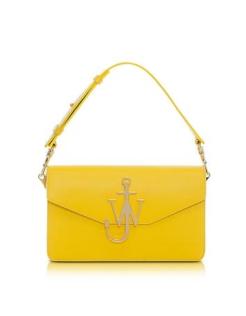 Yellow Logo Purse