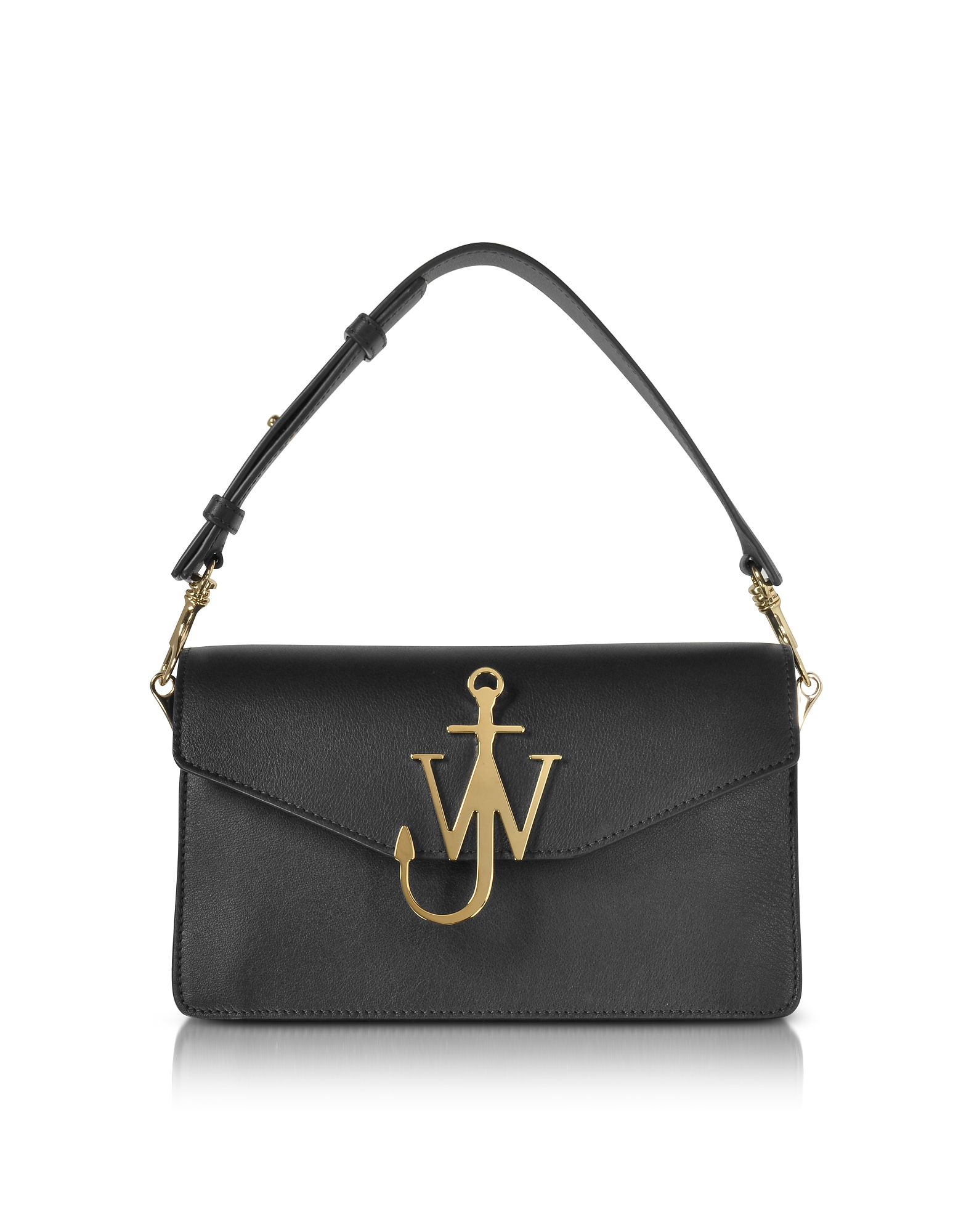 JW Anderson Handbags, Black Logo Purse