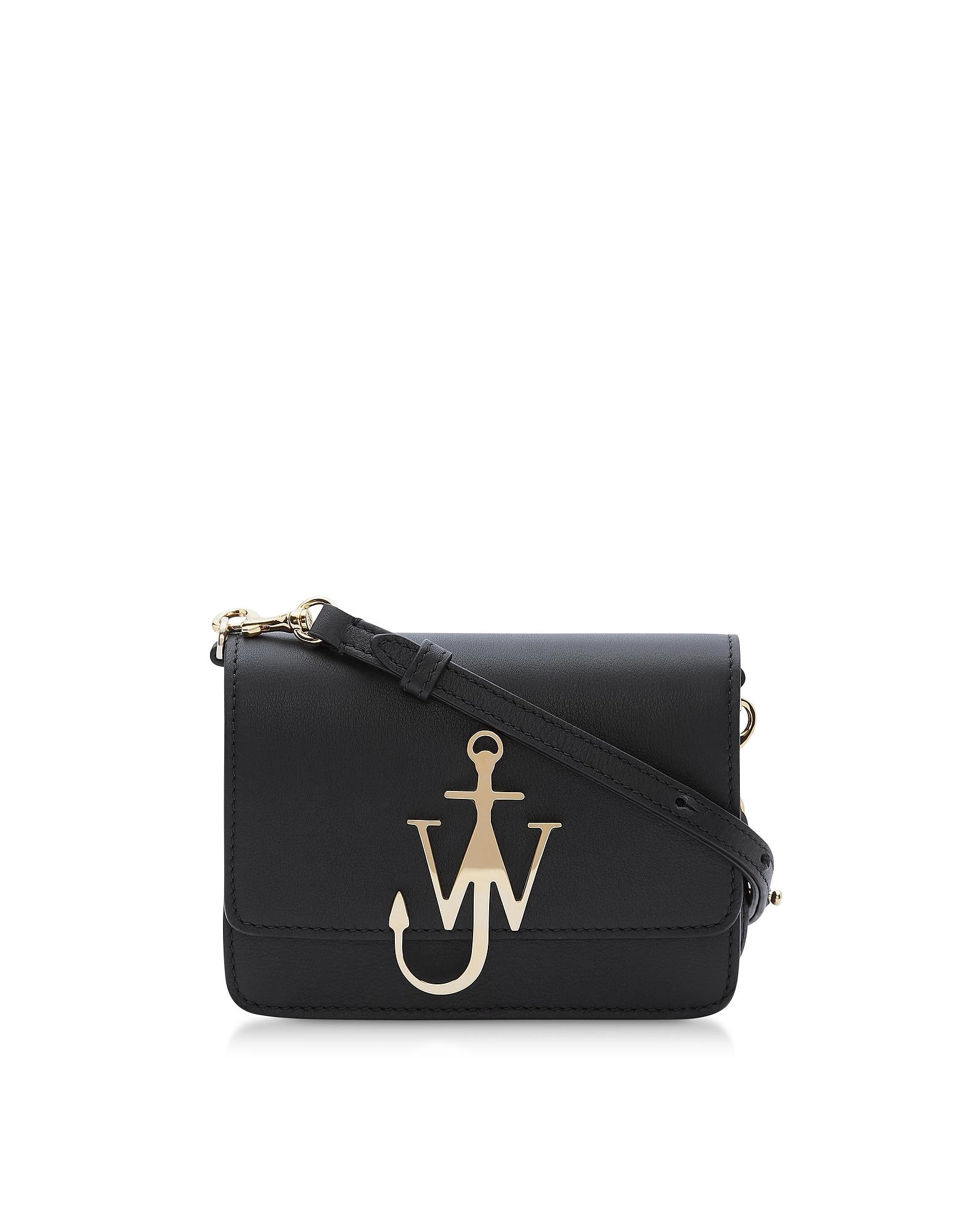 JW Anderson Designer Handbags, New Mini Logo Purse w/Shoulder Strap (Luggage & Bags) photo