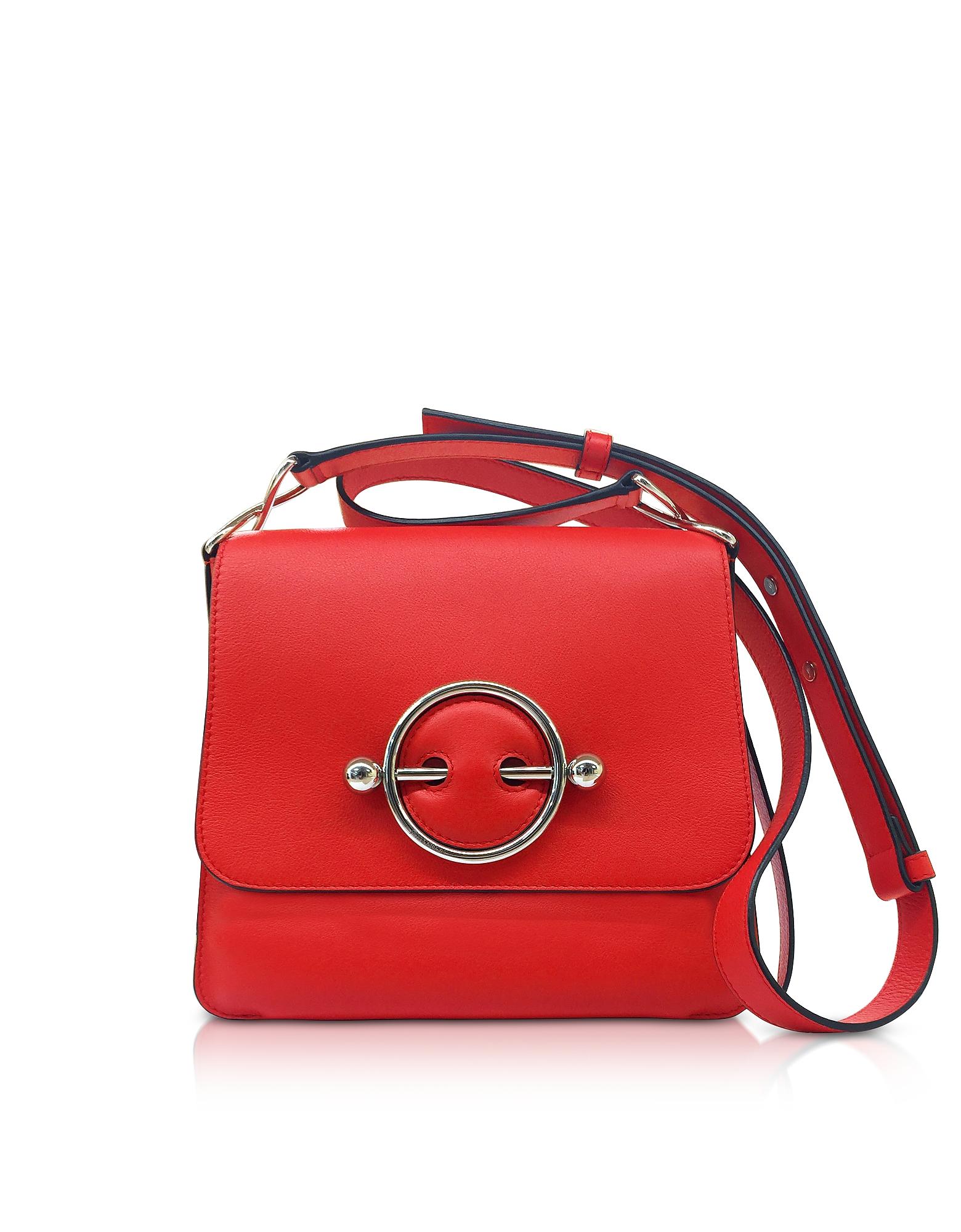 JW Anderson Handbags, Smooth Leather Disc Bag